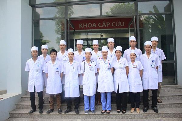 Đội ngũ y bác sĩ khoa hồi sức cấp cứu