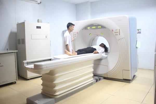 Máy cắt lớp vi tính CT Scanner