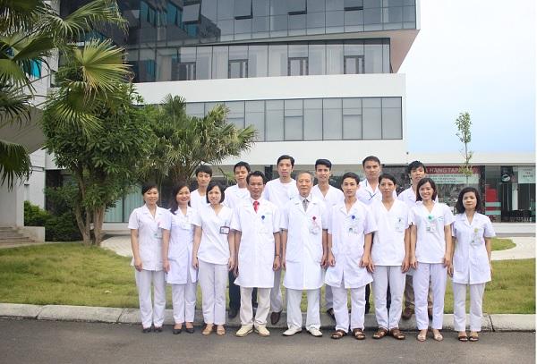 đội ngũ y bác sĩ khoa chuẩn đoán hình ảnh