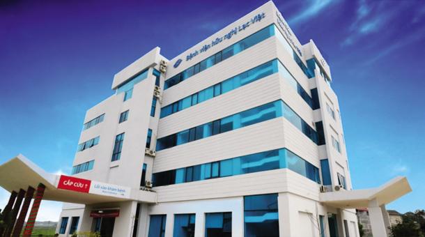 Tòa nhà Bệnh viện Hữu Nghị Lạc Việt
