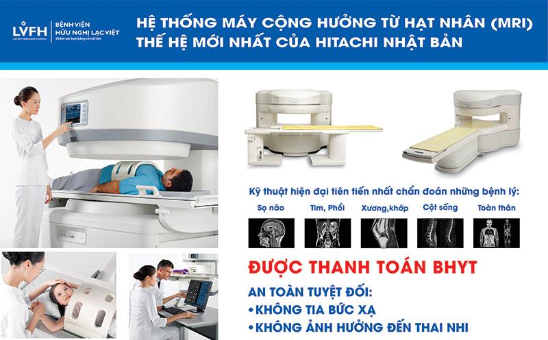 chụp mri bệnh viện Lạc vVệt