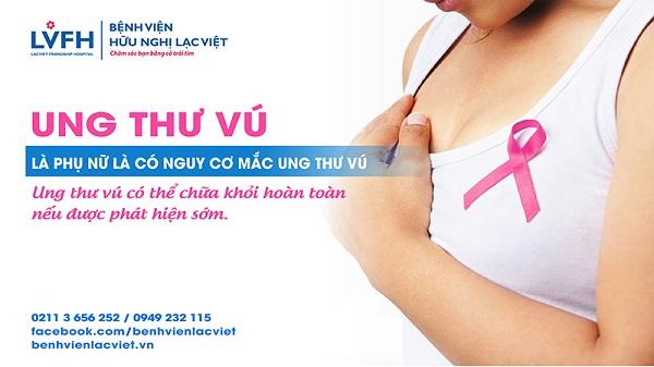 Phát hiện ung thư vú sớm tại BV Lạc Việt
