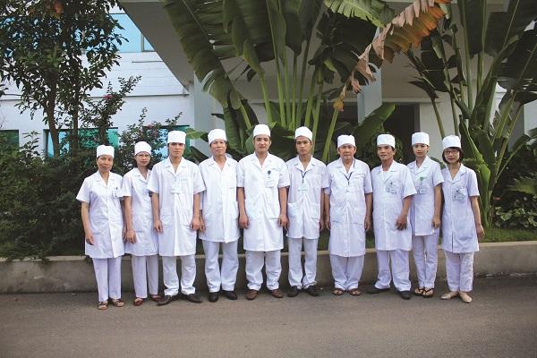 Đội ngũ y bác sĩ của khoa Phẫu thuật & GMHS