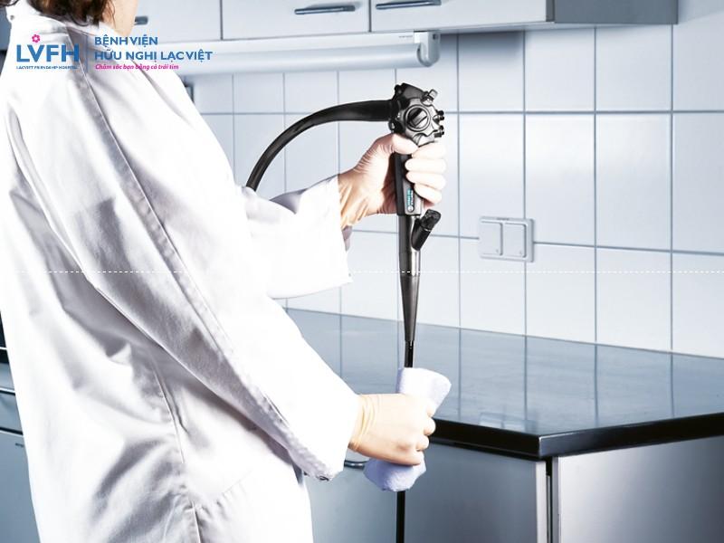 Quy trình vệ sinh tiệt trùng ống nội soi tiêu hóa