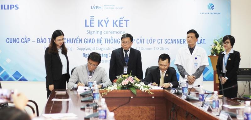 Bệnh viện Lạc Việt đầu tư máy cắt lớp CT Scanner 128 lát